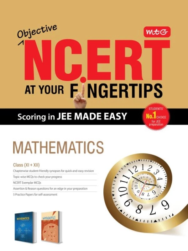 Objective NCERT at your Fingertips Mathematics(English, Paperback, MTG Editorial Board)
