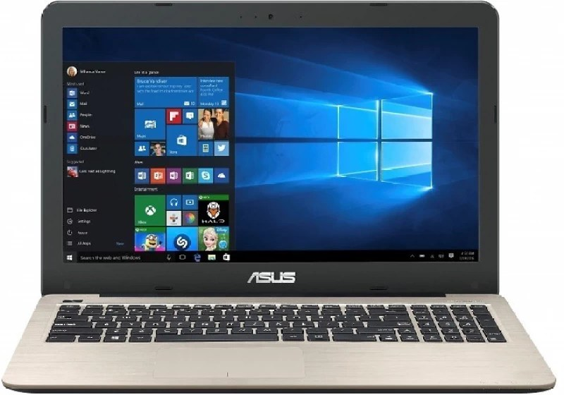 Asus R558UR Core i5 6th Gen - (4 GB/1 TB HDD/DOS/2 GB Graphics) DM124D Laptop(15.6 inch, Golden With Matt Finish, 2.2 kg)