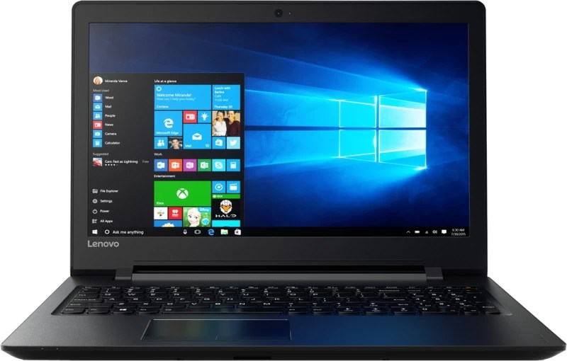 Lenovo Ideapad 110 APU Quad Core A6 6th Gen - (4 GB/500 GB HDD/Windows 10 Home) IP110 15ACL Laptop(15.6 inch, Black, 2.2 kg)
