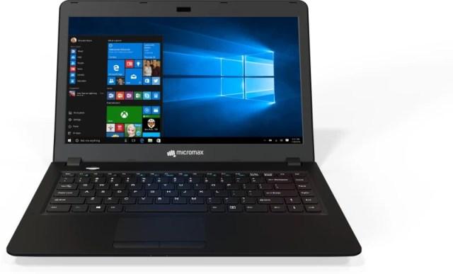 Micromax Ignite Pentium Quad Core 4th Gen - (4 GB/1 TB HDD/Windows 10 Home) LPQ61 Laptop(14 inch, Black)