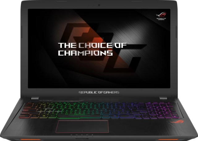 Asus ROG Core i7 7th Gen - (8 GB/1 TB HDD/Windows 10 Home/4 GB Graphics) GL553VD-FY103T Gaming Laptop(15.6 inch, Black Metal, 2.5 kg)