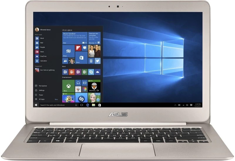 Asus ZenBook Core i5 6th Gen - (8 GB/256 GB SSD/Windows 10 Home) UX305UA-FC013T Thin and Light Laptop(13.3 inch, Metallic Gold, 1.3 kg)