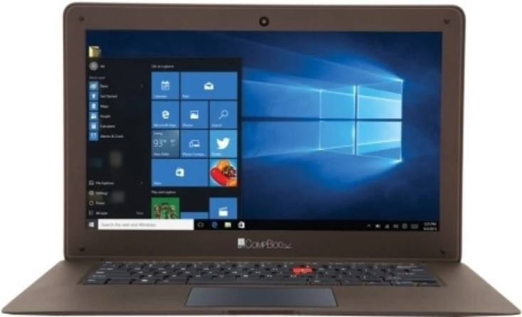 Iball Netbook Atom - (2 GB/32 GB EMMC Storage/Windows 10 Home) CompBook Exemplaire Thin and Light Laptop(14 inch, Cobalt Brown, 1 kg)
