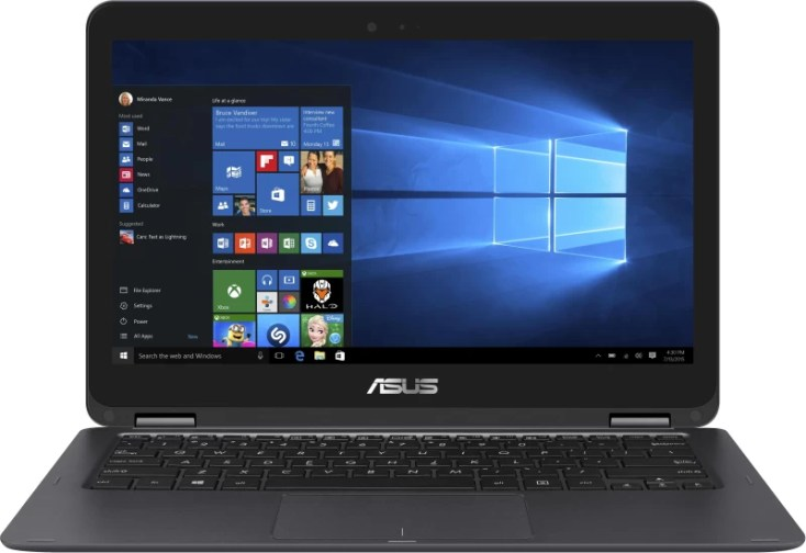 Asus ZenBook Core m3 6th Gen - (4 GB/512 GB SSD/Windows 10 Home) UX360CA-C4080T Thin and Light Laptop(13.3 inch, Grey, 1.30 kg)