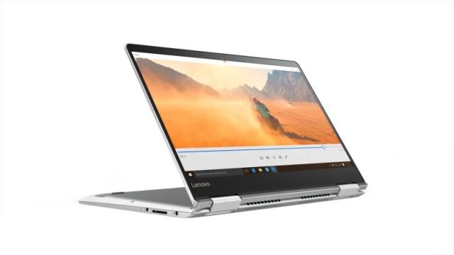 Lenovo Core i7 7th Gen - (8 GB/256 GB SSD/Windows 10 Home/2 GB Graphics) Yoga 710 Laptop(14 inch, Silver, 1.6 kg)