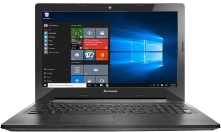 Lenovo G APU Quad Core A8 6th Gen - (4 GB/1 TB HDD/Windows 10 Home/2 GB Graphics) G50-45 Laptop(15.6 inch, Black, 2.5 kg)