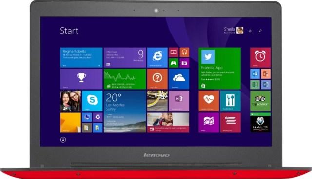 Lenovo Core i5 5th Gen - (4 GB/1 TB HDD/8 GB SSD/Windows 8.1/2 GB Graphics) U41-70 Laptop(14 inch, Red, 1.68 kg)