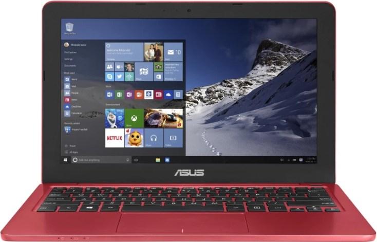 Asus EeeBook Celeron Dual Core - (2 GB/500 GB HDD/Windows 10 Home) E202SA-FD0011T Laptop(11.6 inch, Red, 1.25 kg)