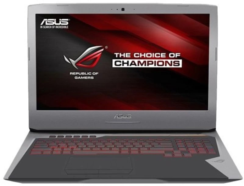 Asus ROG Core i7 6th Gen - (16 GB/1 TB HDD/512 GB SSD/Windows 10 Home/8 GB Graphics) G752VY-GC489T Gaming Laptop(17.3 inch, Grey, 4.3 kg)