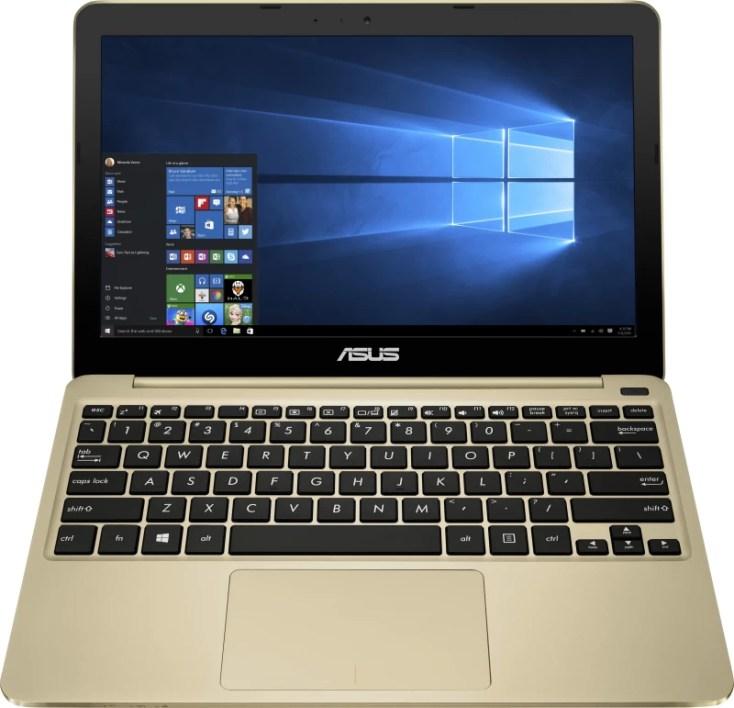 Asus Eeebook Atom - (2 GB/32 GB HDD/32 GB EMMC Storage/Windows 10 Home) X205TA Laptop(11.6 inch, Gold, 1 kg)