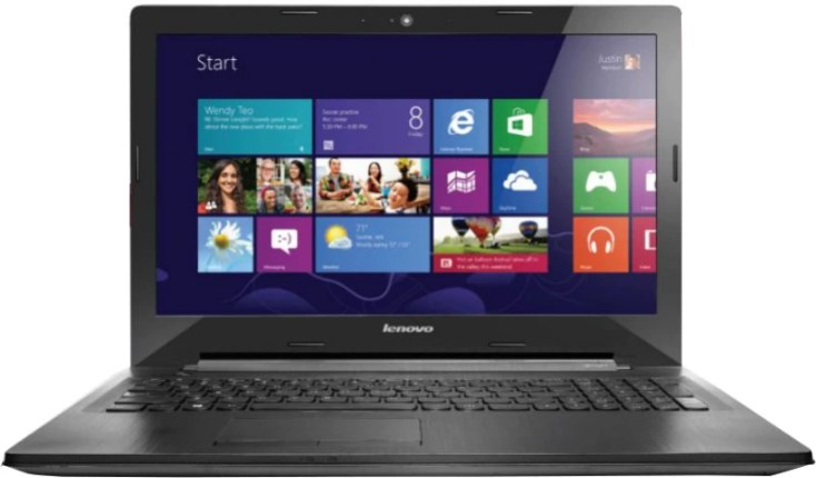 Lenovo APU Quad Core A8 6th Gen - (8 GB/1 TB HDD/Windows 8.1/2 GB Graphics) G50-45 Laptop(15.6 inch, Silver, 2.5 kg)