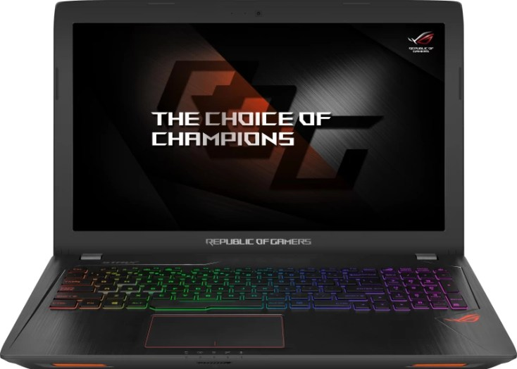 Asus ROG Core i7 7th Gen - (8 GB/1 TB HDD/Windows 10 Home/4 GB Graphics) GL553VE-FY047T Gaming Laptop(15.6 inch, Black Metal, 2.5 kg)