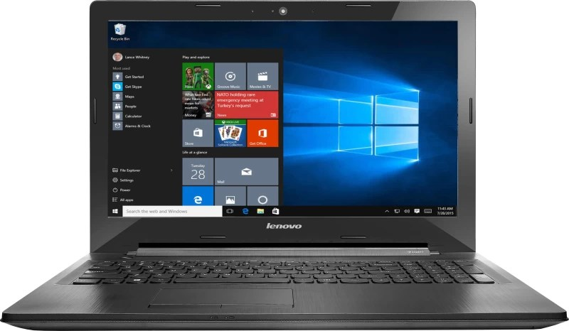 Lenovo G Core i5 5th Gen - (4 GB/1 TB HDD/Windows 10 Home/2 GB Graphics) G50-80 Laptop(15.6 inch, Black, 2.5 kg)