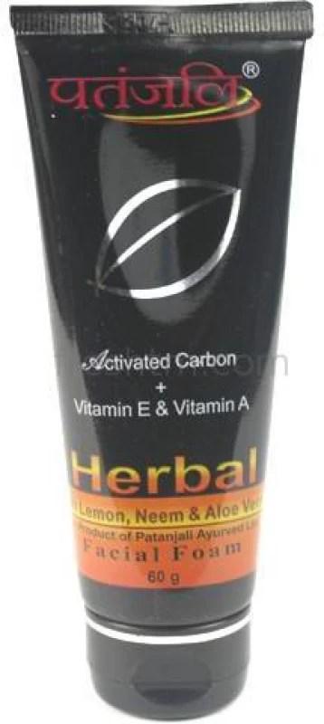 Patanjali Herbal Facial Foarm (Pack of 3) Face Wash(60 g)
