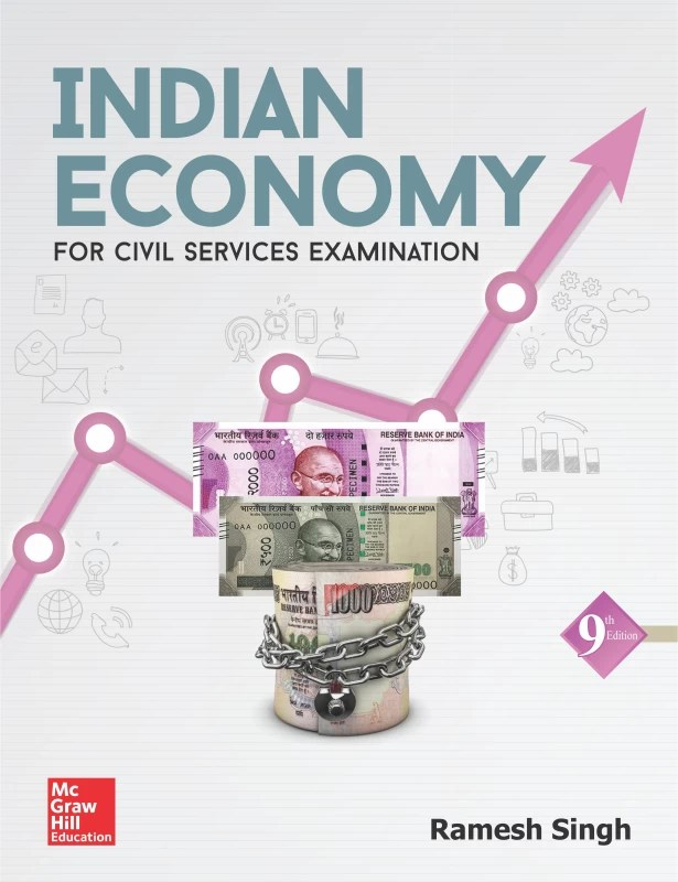 Indian Economy : For Civil Services Examination Ninth Edition(English, Paperback, Ramesh Singh)