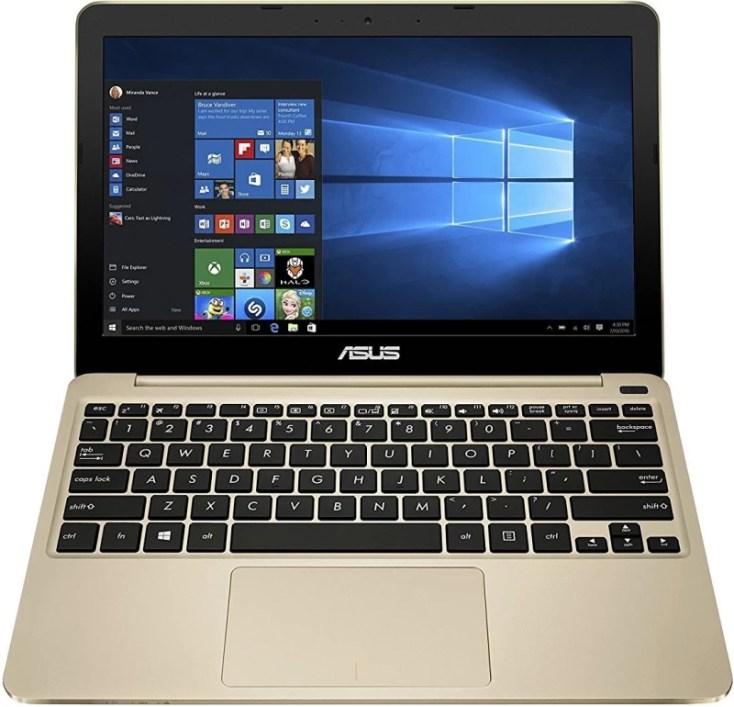 Asus eebook series Atom 5th Gen - (2 GB/32 GB EMMC Storage/Windows 10) E200HA-FD0043T Laptop(11.6 inch, Gold)