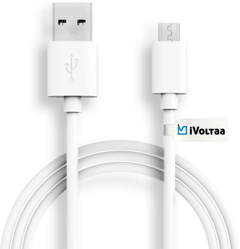 iVoltaa ivfk1 Sync & Charge Cable(White)
