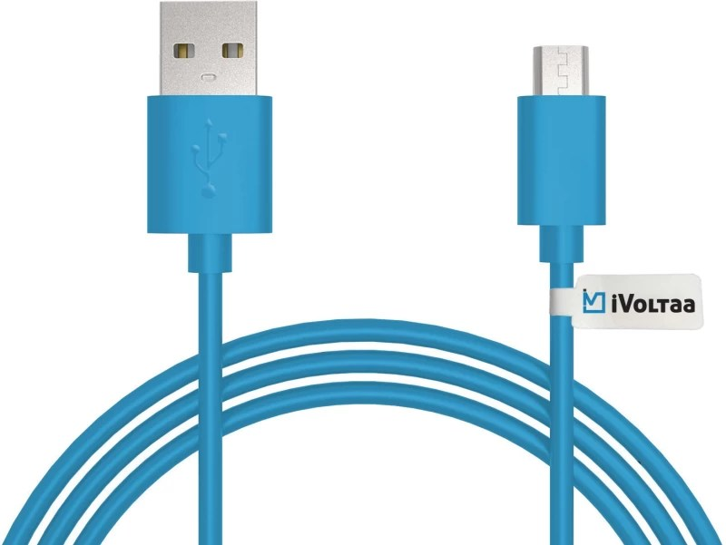 iVoltaa ivfk1 Sync & Charge Cable(Blue)