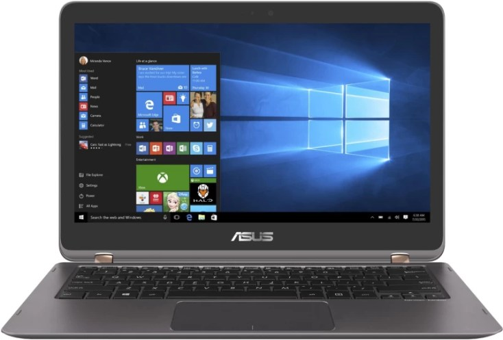 Asus Zenbook Flip Series Core i5 7th Gen - (8 GB/512 GB SSD/Windows 10 Home) UX360UAK-DQ240T Thin and Light Laptop(13.3 inch, Grey, 1.27 kg)