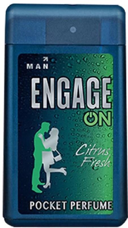 Engage On Citrus Fresh Pocket Perfume - 18 ml(For Men)