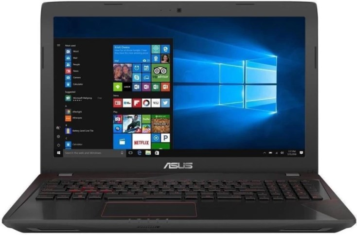 Asus FX Series Core i7 7th Gen - (8 GB/1 TB HDD/Linux/2 GB Graphics) FX553VD Gaming Laptop(15.6 inch, Black, 2.5 kg)