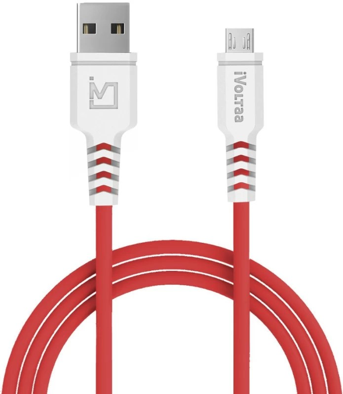 iVoltaa iVPC-IM Sync & Charge Cable(Red)