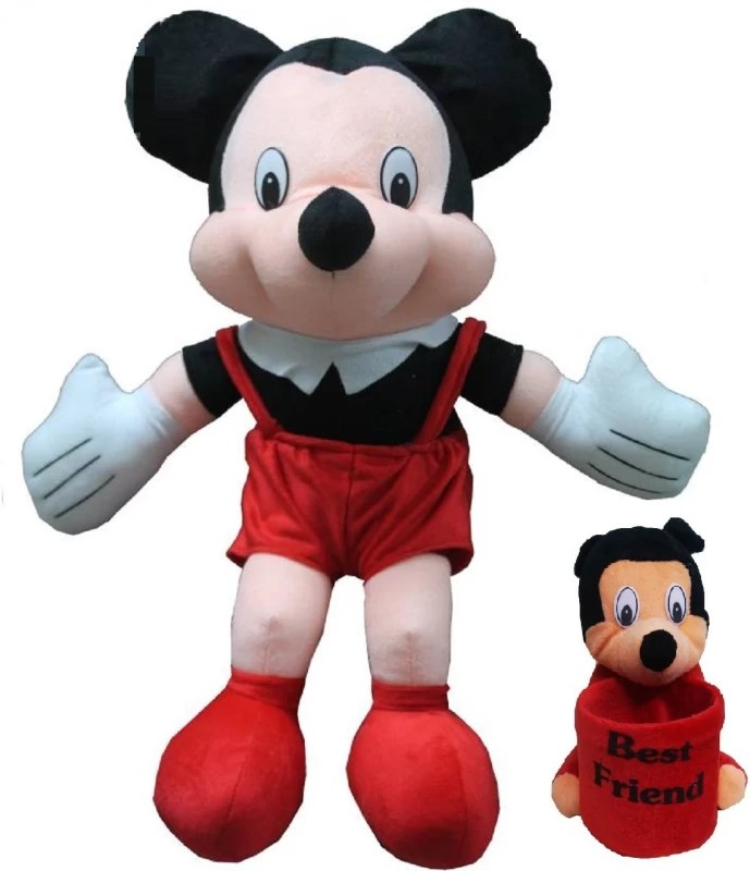 kaykon Disney Mickey Mouse 17 inch With 1 Free Mickey Mouse Pen Stand - #BestdealonFlipkart - 17 inch(Red)