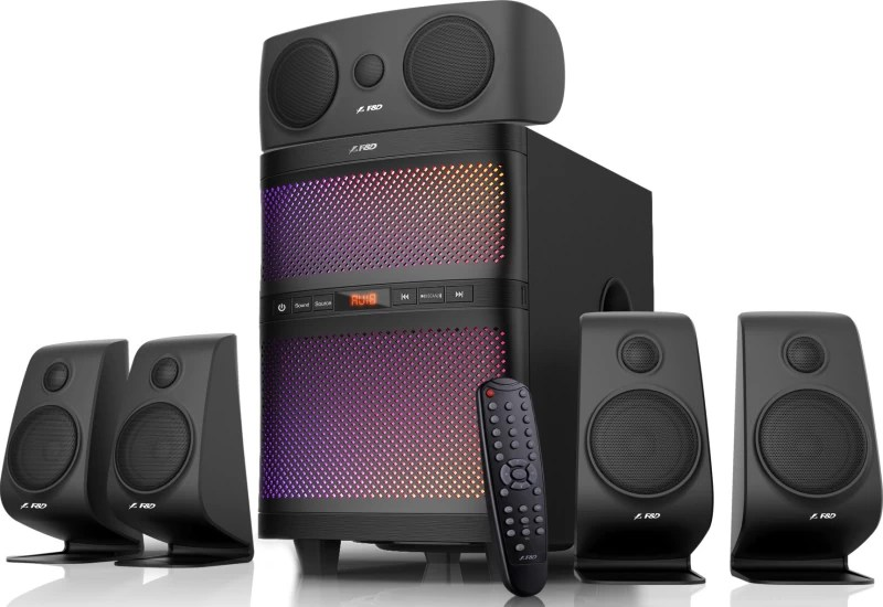 F&D F5060X Bluetooth Home Audio Speaker(Black, 5.1 Channel)