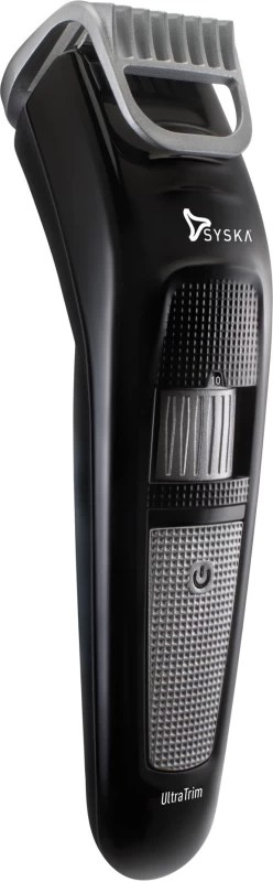 Syska HT100 Cordless Trimmer(Black, Silver)