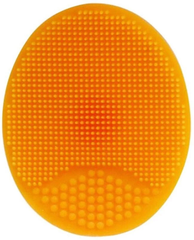 Gugzy Facial Cleansing Pads, Soft Silicone Face Scrubbers Exfoliators Face Cleansing Tool, Perfect for Massage, Washing Pore Cleanser, Blackhead Removing, Exfoliating and Baby Shower(Pack of 1)