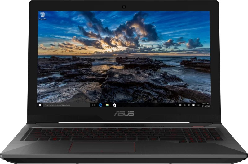 Asus FX503 Core i7 7th Gen - (8 GB/1 TB HDD/128 GB SSD/Windows 10 Home/4 GB Graphics) FX503VD-DM112T Gaming Laptop(15.6 inch, Black, 2.5 kg)
