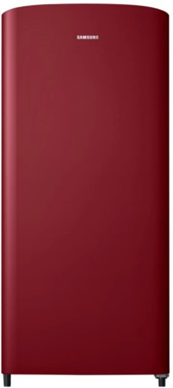 Samsung 192 L Direct Cool Single Door Refrigerator(Scarlet Red, RR19M10C1RH/HL)