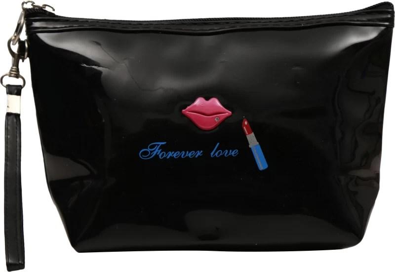 FabSeasons Cosmetic Pouch(Black)