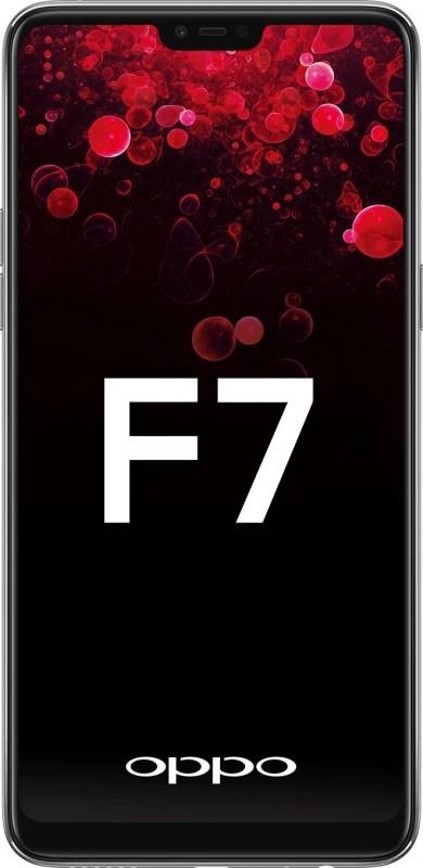 OPPO F7 (Silver, 64 GB)(4 GB RAM)