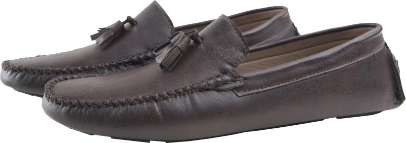 Elitous Tassel Driver Loafers Loafers For Men(Black)