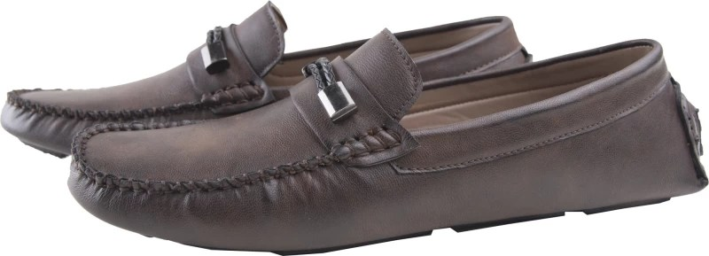 Elitous Horsebit Driver Loafers Loafers For Men(Brown)
