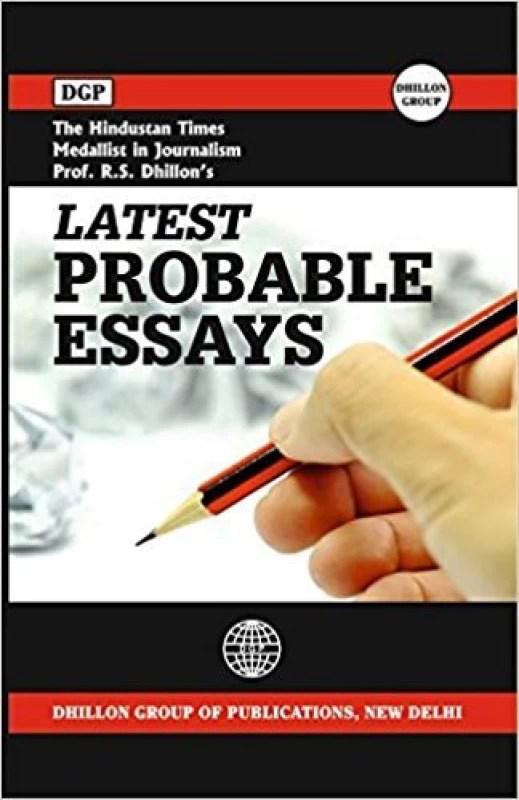 DGP Probable Latest Essays(English, Paperback, Prof. Rajinder S. Dhillon)