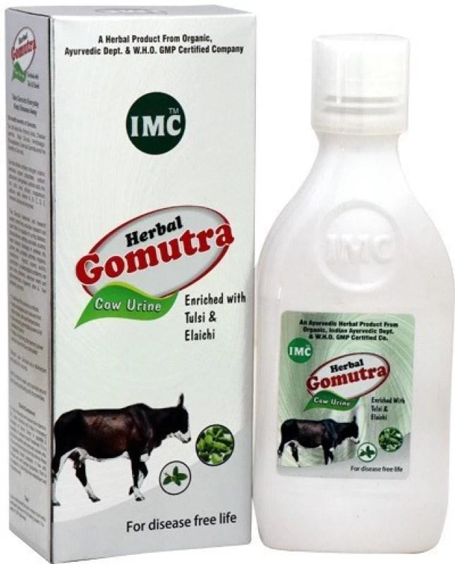 IMC Herbal Gomutra With Tulsi and Elaichi(500 ml)