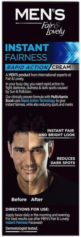 Fair & Lovely Men Anti-Marks Fairness Cream(50 g)