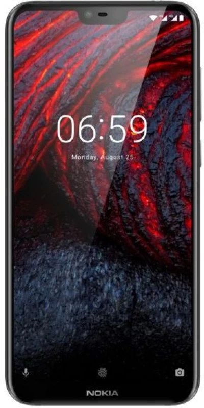 Nokia 6.1 Plus (Black, 64 GB)(4 GB RAM)
