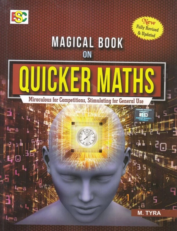 Magical Book On Quicker Maths(English, Paperback, M. Tyra)