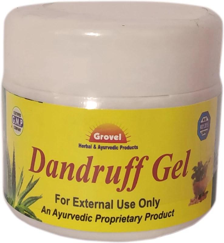 Grovel Dandruff Gel Pack of 2(150 g)