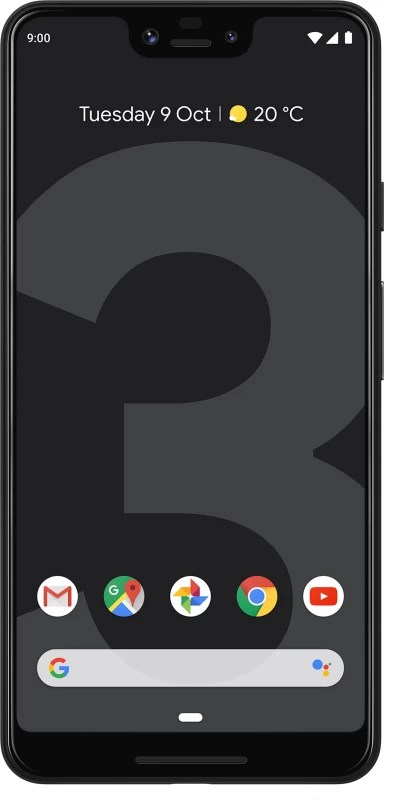 Google Pixel 3 XL (Just Black, 128 GB)(4 GB RAM)
