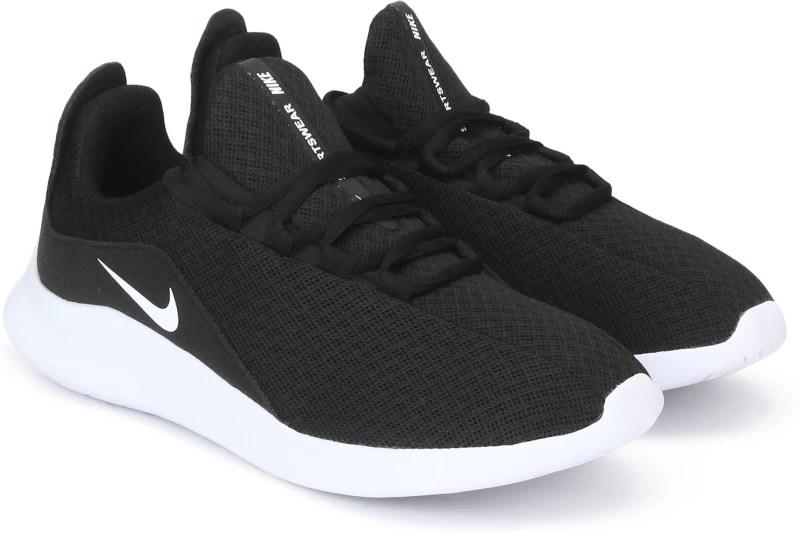 Nike VIALE SS 19 Running Shoes For Men(Black)