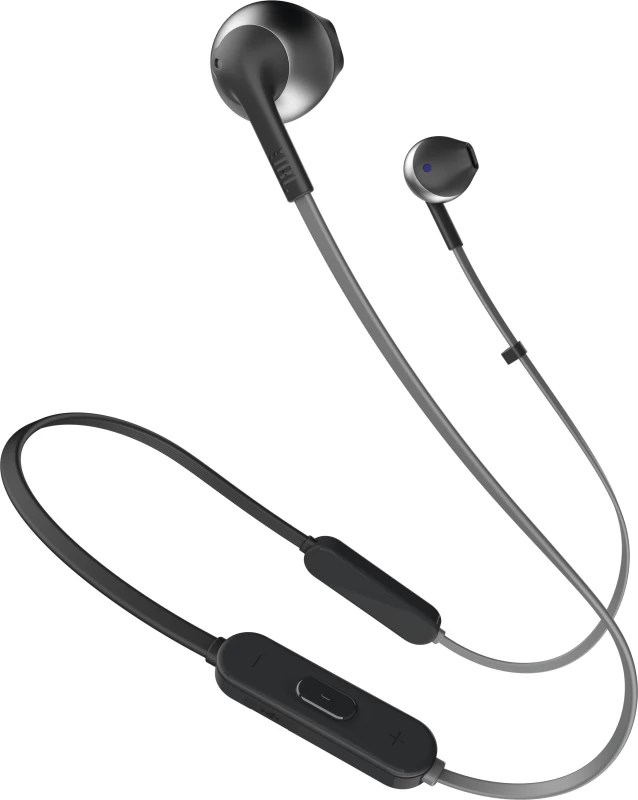 JBL T205BT Bluetooth Headset with Mic(Black, In the Ear)