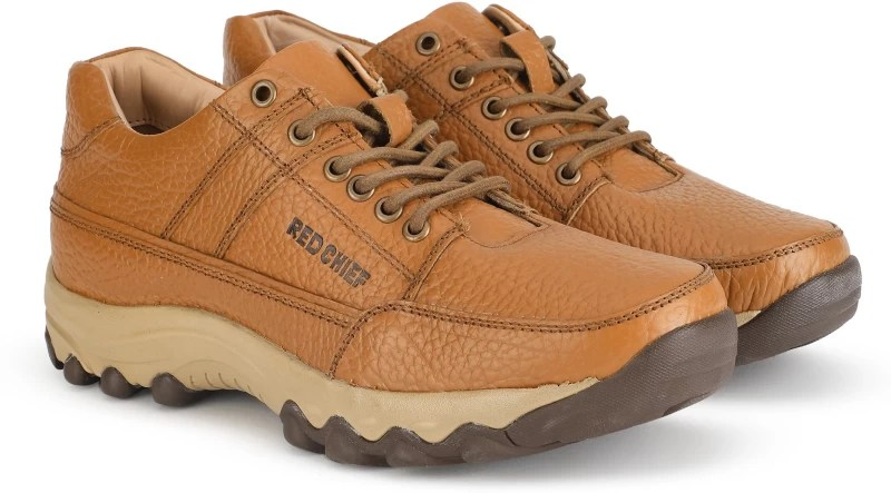 Red Chief RC3488 Outdoor Shoe For Men(Tan)