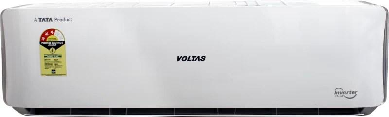 Voltas 1.5 Ton 3 Star Split Inverter AC - White(183 VDZU(R-410A)/183 VDZU 2(R-410A), Copper Condenser)