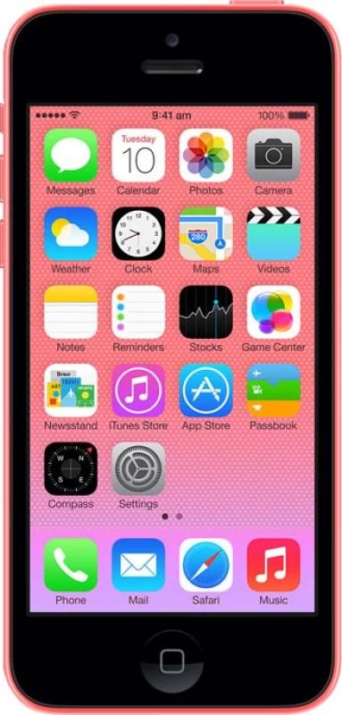 Apple iPhone 5C (Pink, 16 GB)