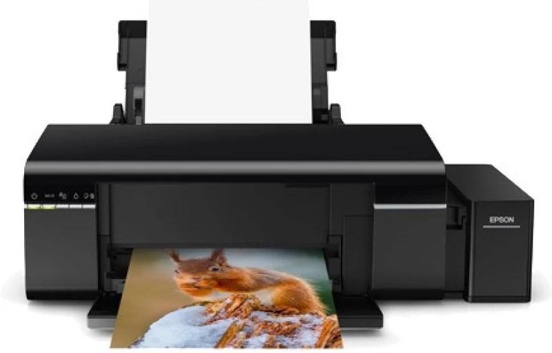 Epson L805 Single Function Printer(Black, Refillable Ink Tank)