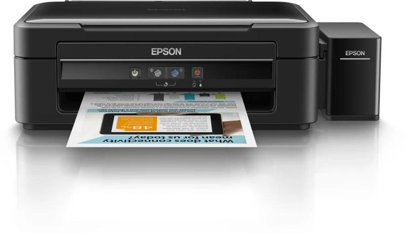 Epson L360 Multi-function Inkjet Printer(Black, Refillable Ink Tank)